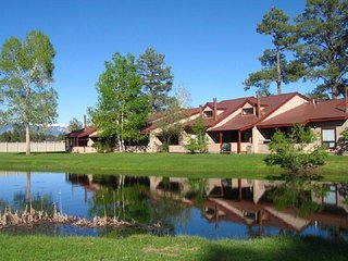 Lodge 3007 is a cozy, pet friendly vacation condo with beautiful views of the
