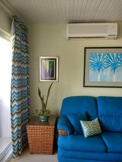 air condition in the living room