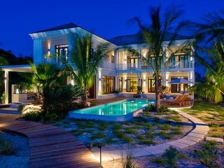 Two story colonial styled villa