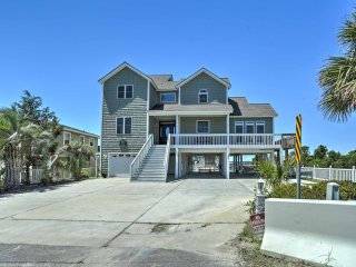 New! 5BR North Myrtle Beach Home w/Floating Dock!