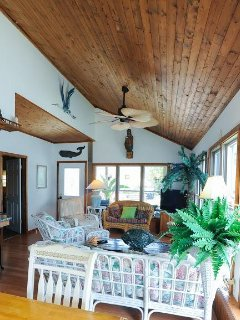 vaulted ceiling Florida room