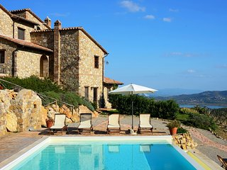 BEAUTIFUL APARTMENT in 1700s Farmhouse in the hills with infinity pool.