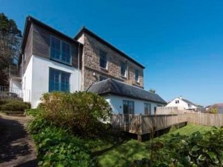5* gold two bedroom first floor sea views window seat Carbis Bay St ives