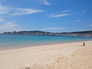 PLAYA DE COROSO.RIBEIRA. Pie de playa