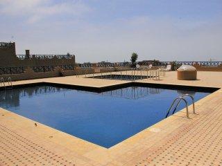Chez Salha, appartement 140M2 vue sur mer avec piscine
