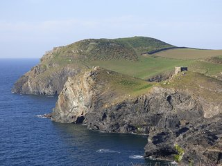The 'Heads' at Port Quin