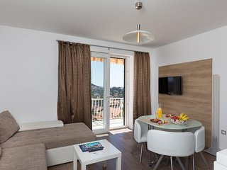 Apartments A&B Sunset - One Bedroom Apartment with Balcony and Sea View (Bruna)