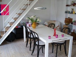 Copenhagen apartment in 2 levels near Forum metro