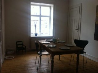 Nice Copenhagen apartment in quiet neighborhood