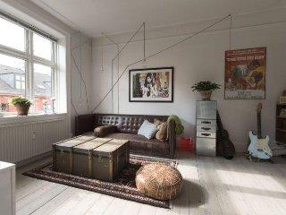 Originally decorated Copenhagen apartment at Vesterbro