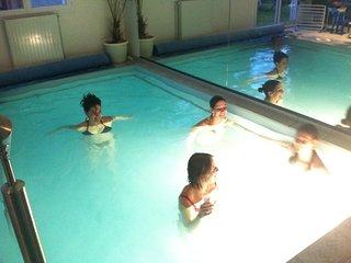 Location 10 personnes piscine interieure