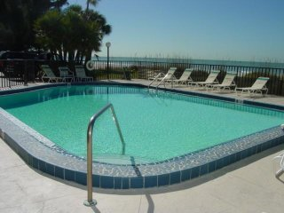 Indian Shores Beach Front Sunshine Condo 2bed/2bath Ready to Enjoy