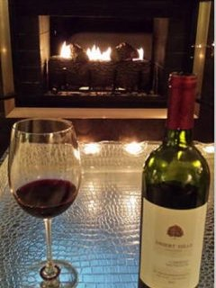 Cozy up to the fire with a BC red.