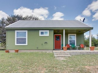 Charming riverfront retreat w/shared pool, river access, & dog-friendly style