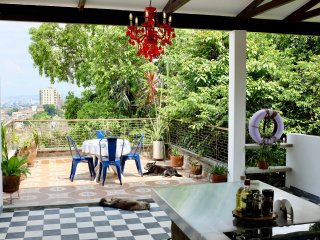 Deluxe Room with Private Bathroom & Terrace in Magic Garden House