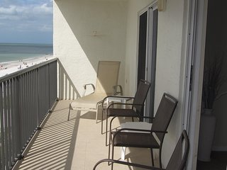 Madeira Beach 2bedroom Kima 403 Gulf Front Condo    PRICELESS SUNSETS!