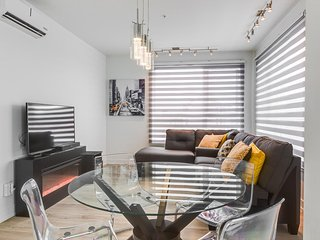 Chic Condo in Vibrant Dix30  District