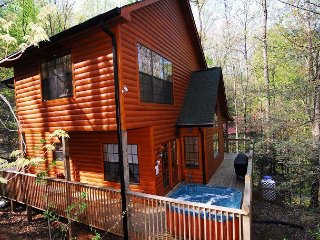 2 Bedroom Log Wooded View