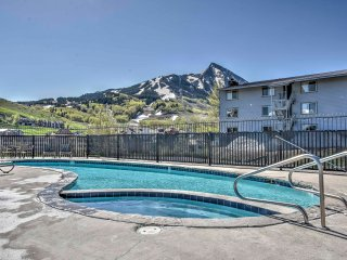 NEW! 3BR Mt. Crested Butte Condo-Steps from Slopes