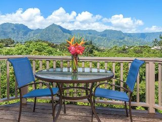 Amazing views from this Hanalei Bay Villa!  Free Standing Villa!