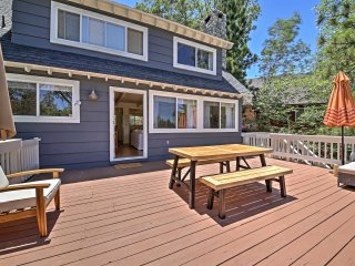 NEW! 3BR Lake Arrowhead Cottage w/ Large Deck!