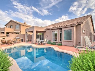 NEW! 4BR House in Mesa w/ Pool and Desert View!