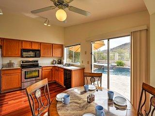 NEW! 2BR Phoenix House w/ Private Travertine Pool!