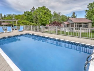 NEW! Bayview 3BR Home in Finger Lakes Area w/ Pool!