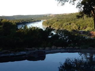 Serene Waterfront Lake Austin Cottage, Stunning Views & Spectacular Boat Dock