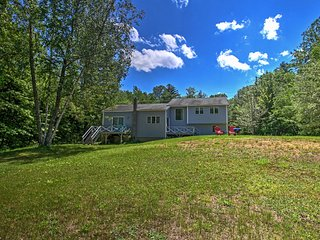NEW! Scenic 3BR Gilford Home by Lake Winnipesaukee