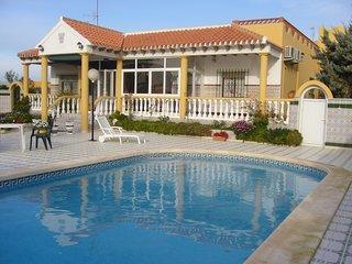Hermosa villa con piscina cerca del Mar Menor y el Mediterraneo
