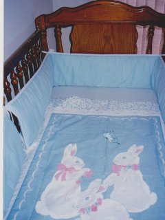 Closer View of Baby's Cot