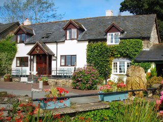 BARLEY, cosy cottage, super king-size bed, woodburner, WiFi, Llanfyllin, Ref 960