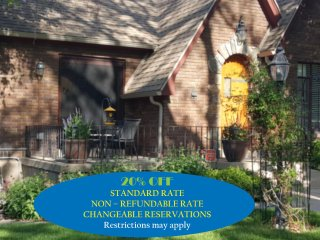 DeSoto Tudor On Capitol Hill  20% OFF PUBLISHED RATE - NON REFUNDABLE RATE