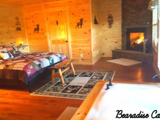 Perfect Location Rustic Elegant 2 BR Mtn Cabin