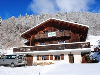 Catered chalet 7min private shuttle to the pistes of Avoriaz