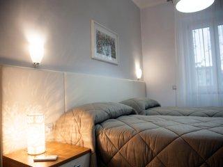 Camera doppia con letti singoli Biancheria da letto fornita