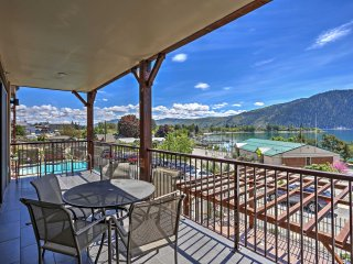 NEW! 2BR Manson Condo Steps from Lake Chelan!