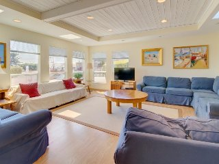 Spacious home offers amazing ocean views, nearby beaches, and much more!