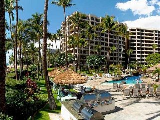KAANAPALI ALII LUXURY OCEAN VIEW FRONT CENTER 2Bdm/2 Ba 5th Fl Corner unit