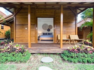 Orora Bungalow B3, in the heart of Canggu. Only 400 meters from the beach.