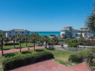 Mrs Robinson Gulf View rental 100 steps to beach.