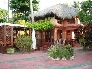 Private Gated Beachfront Community lounges/Palapa