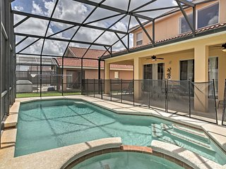 6BR Davenport Villa Outdoor Kitchen & Heated Pool