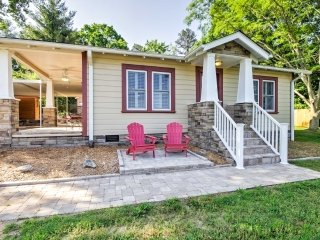 NEW! Remodeled 1BR Swannanoa Cottage w/ Large Yard!