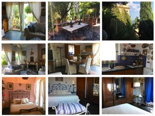 CASA DORA With Private Terrace, Garden,Parking and Sea View