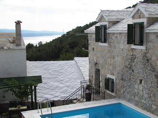 Stunning stone house  TOPOLINA*** with pool, terrace, taverna -Brand new -