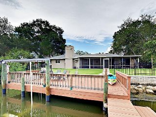 3BR Beauty w/ Boat Dock on Intracoastal Waterway—Near Downtown, Beaches
