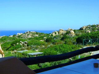 Great Sea View Cottage-Apartment With Private Sun Terrace And Beach