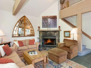 Snowgoose 11 | Ski Home Access, Vaulted Ceiling, Secure Parking, Fireplace